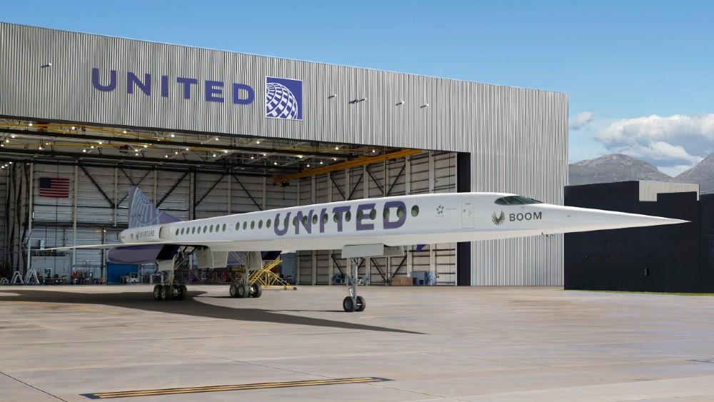 United Agrega Velocidades Supersónicas Con Un Nuevo Acuerdo Para Comprar Aviones De Boom Supersonic